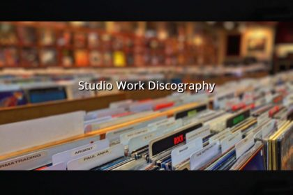 Permalink to: Studio Work Discography